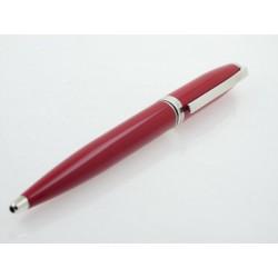 Bolígrafo ST Dupont Fidelio Laque Rouge Argent - REF. 455285