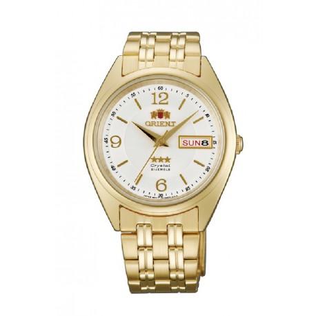 Reloj Orient Auto 3 Estrellas Cristal - REF. 147FAB0000CW9