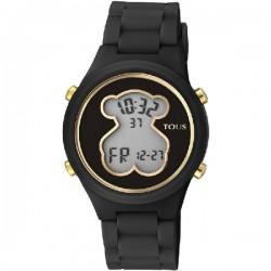 Reloj Tous Digi-Bear caucho negro - REF. 000351590