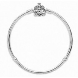 Pulsera Pandora plata 925 Disney 19cm - REF. 599190C01-19