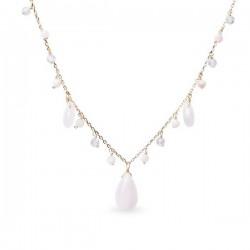 Collar Luxenter Hildara plata 925 dorada - REF. NXA154Y7280