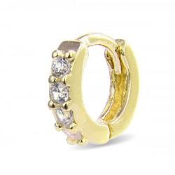 Piercing Luxenter Ansung plata 925 dorado - REF. PIR024Y0000