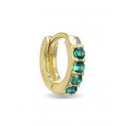 Piercing Luxenter Ansung plata 925 dorado - REF. PIR024Y3000