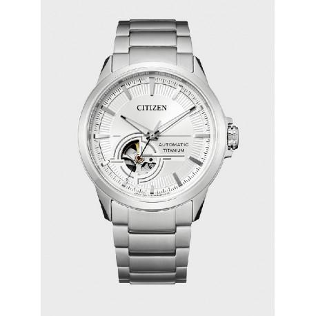 Reloj Citizen Super Titanium Auto para caballero - REF. NH9120-88A