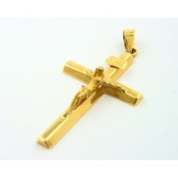 Cruz oro 750 con cristo - REF. 243151