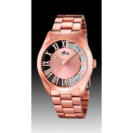 49f6b48b4c15 Reloj Lotus de señora IP rosa - REF. L18124 1 - Joyería Manjón