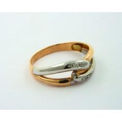 8f7e09a8ffbd Anillo oro blanco y rosa 750 con brillantes - REF. MO-C9258022 S