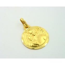 Medalla oro 750 Angel de la Guarda - REF. STC-5101381/ME