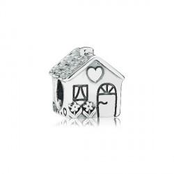 Abalorio Pandora plata 925 Casa Familiar - REF. 791267