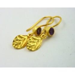 Pendientes plata dorada 925 LeCarré - REF. LB044AM