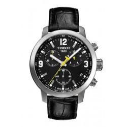 Reloj Tissot PRC200 cronógrafo cuarzo esfera negra - REF. T0554171605700