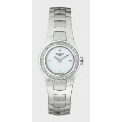 Reloj Tissot T-Round con diamantes - REF. T64168681