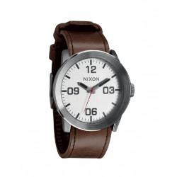 Reloj Nixon Corporal Silver / Brown - REF. A2431113