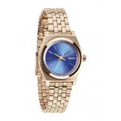 Reloj Nixon Small Time Teller Rose Gold/Cobalt - REF. A3991748