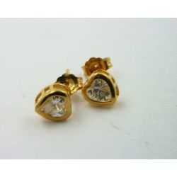 Pendientes Luxenter Nyos plata dorada 925 - REF. EH030Y0000