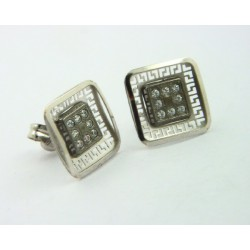Pendientes oro blanco 750 - REF. LV-643062B/PE
