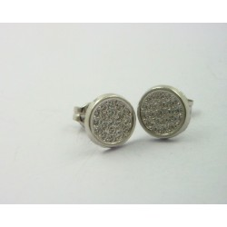 Pendientes oro blanco 750 - REF. LV-620852B/PE