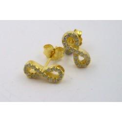 Pendientes Luxenter Munthir plata 925 dorada - REF. EV056Y0000