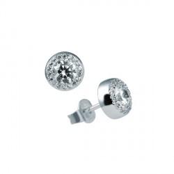 Pendientes DiamonFire plata 925 con circonitas - REF. 6214671082