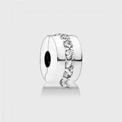 Abalorio clip Pandora plata 925 - REF. 791972CZ