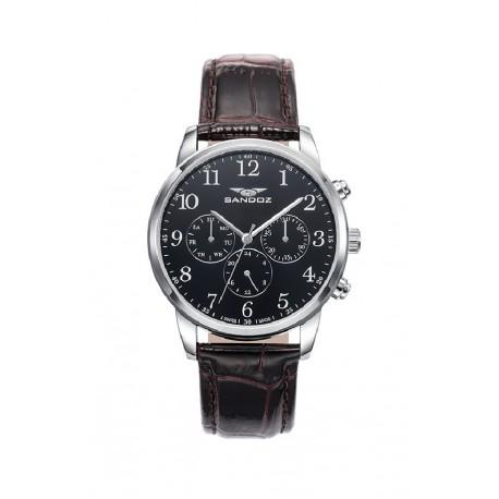 f39489fb59d4 Reloj Sandoz cronógrafo para caballero - REF. 81441-55 - Joyería Manjón