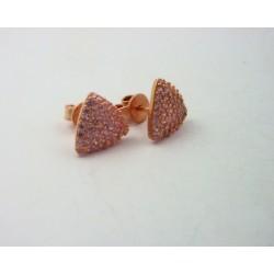 Pendientes Luxenter plata rosa 925 Odma - REF. EQ070R3700