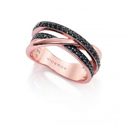 Anillo Viceroy Jewels plata rosa 925 - REF. 7066A012-55