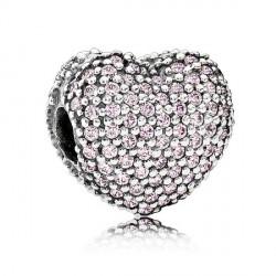Abalorio Clip Pandora plata 925 ¨Abre mi corazón¨ - REF. 791427PCZ
