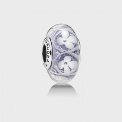 Abalorio Pandora ¨Campo de flores morado¨ - REF. 791667
