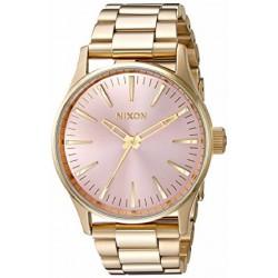 Reloj Nixon Sentry 38 SS Ligth Gold/Pink - REF. A4502360