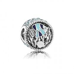 Abalorio Pandora plata 925 ¨Vida en el oceano¨ - REF. 792075ENMX