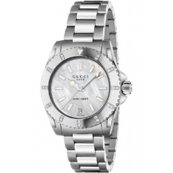 Reloj Gucci Dive con diamantes - REF. YA136405