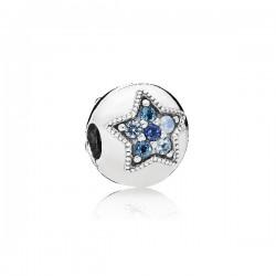 Abalorio clip Pandora plata 925 - REF. 796380NSBMX