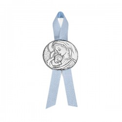 Medalla cuna Durán Exquse plata bilaminada - REF. 07500278