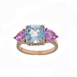 Anillo Salvatore plata rosa 925 - REF. 245S0002