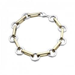 Pulsera Durán Exquse Hexagone plata 925 - REF. 00506620