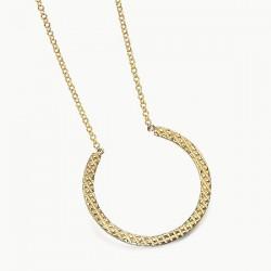 Gargantilla Lecarré plata dorada 925 - REF. LD067AM.00
