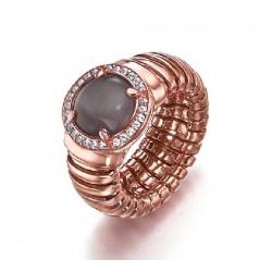 Anillo Lecarré plata rosa 925 talla 17 - REF. LA101RS.17