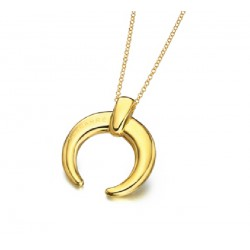 Gargantilla Lecarré plata dorada 925 - REF. LD056AM.00