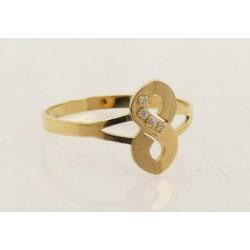 Anillo oro 750 talla 9 - REF. GA-HRO1712