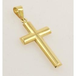 Cruz oro 750 amarillo - REF. GA-D4P641