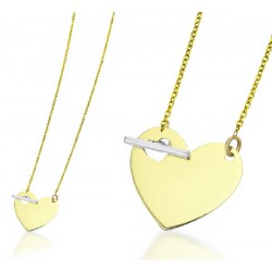 Gargantilla corazón oro 750 - REF. GD032OA.00