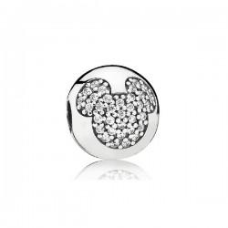 Abalorio Pandora plata 925 Mickey en pavé - REF. 791449CZ