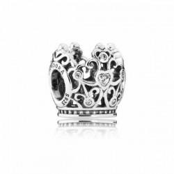 Abalorio Pandora plata 925 Corona de Princesa - REF. 791580CZ