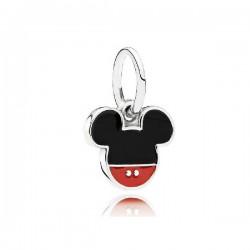 Abalorio Pandora plata 925 Icono Mickey - REF. 791461ENMX