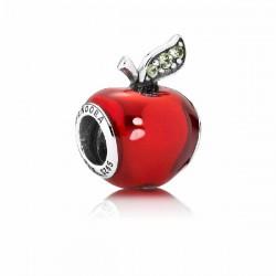 Abalorio Pandora plata 925 Manzana Blancanieves - REF. 791572EN73
