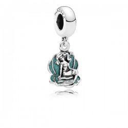Abalorio Pandora plata 925 Concha con Ariel - REF. 791895EN111
