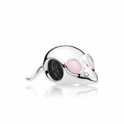 Abalorio Pandora plata 925 Ratón lindo - REF. 797062EN160