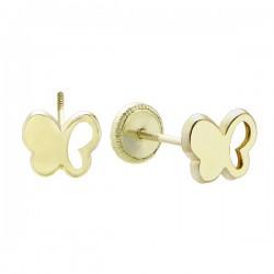 Pendientes Duran Exquse oro 750 mariposas - REF. 00506913