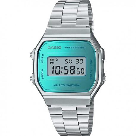 9d9432ff2cf8 Reloj Casio Collection unisex - REF. A168WEM-2EF - Joyería Manjón